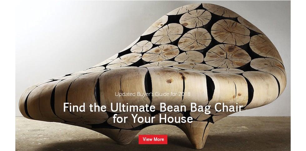 Bean bag chair alerts banner