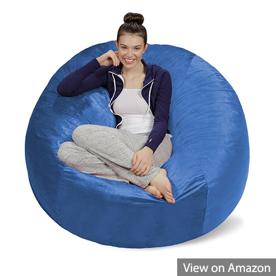 Sofa Sack 5 Foot Bean Bag Chair, Royal Blue