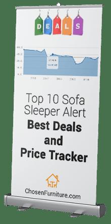 Sofa sleeper alert - deals and price tracker