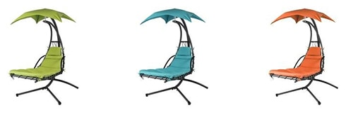 Best Choice Products Stand Air Porch Swing Hammock Chair with Canopy colors