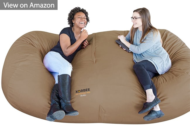 Terrific 10 Best Giant Bean Bag Chairs Beds For Adults 2019 Machost Co Dining Chair Design Ideas Machostcouk