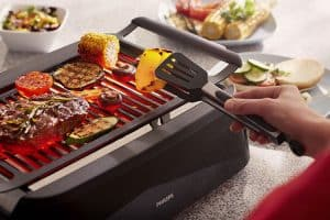 Philips Indoor Smokeless Grill cook