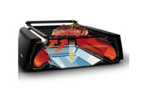Philips Indoor Smokeless Grill section