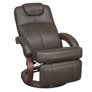 """RecPro Charles 28"""" RV Euro Chair Recliner half open"""