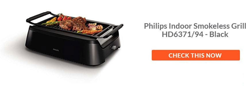 Shop Philips Indoor Smokeless Grill