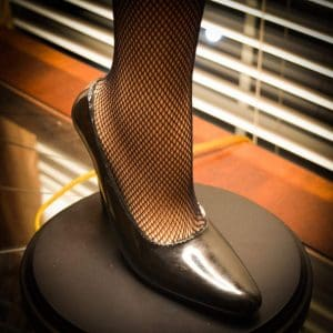 A Christmas Story House Full Size Leg Lamp shoe