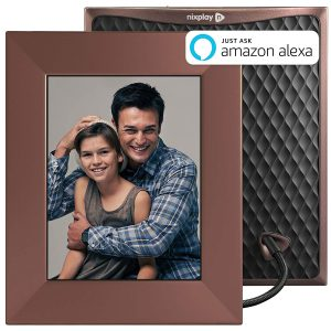 Nixplay Iris WiFi Cloud Digital Photo Frame bronze