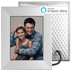 Nixplay Iris WiFi Cloud Digital Photo Frame silver
