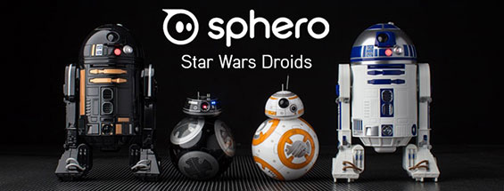 Sphero Star Wars App-Enabled Droid models