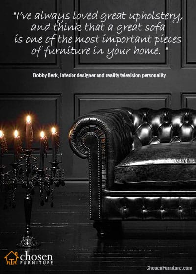 Chesterfield sofas quote