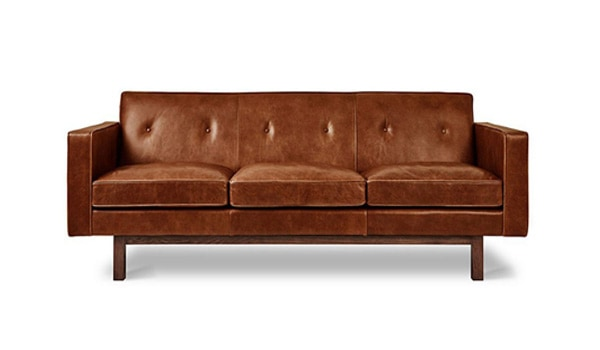 Embassy Chesterfield Leather Sofa
