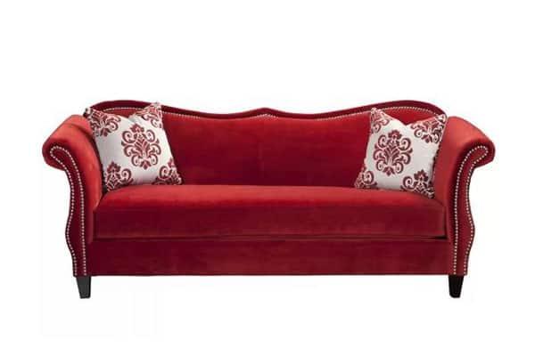 Emillio Camelback Sofa