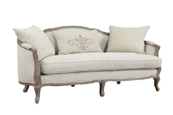 Folmar Settee Camelback Sofa