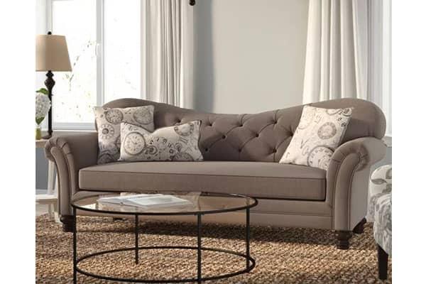Remmie Camelback Sofa