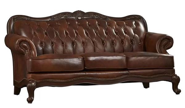 Smith Leather Chesterfield Sofa