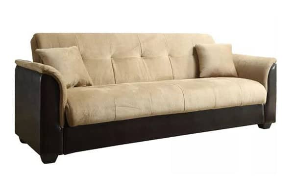 Brick Champion Convertible Click Clack Sofa Bed