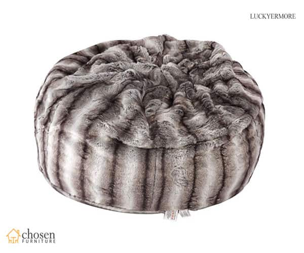 Faux Fur Luxury Fluffy Bean Bags Chair