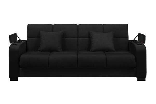 Tyler Storage Arm Click Clack Sofa Bed