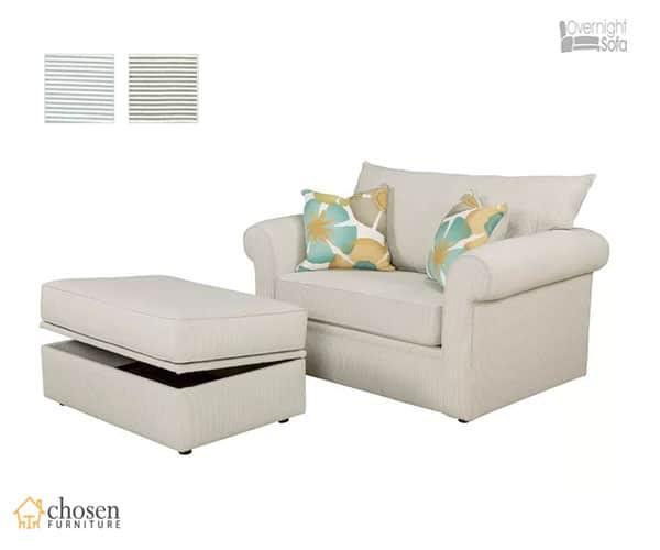 Edgar Twin Size Sleeper Sofa