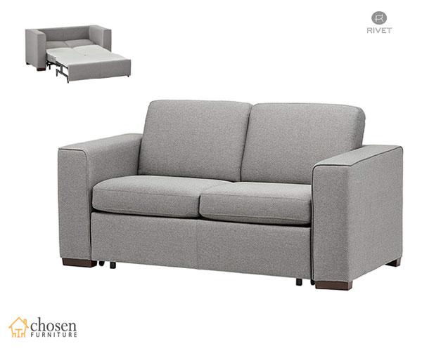 Elliot Easy-Pull Modern Twin Size Sleeper Sofa
