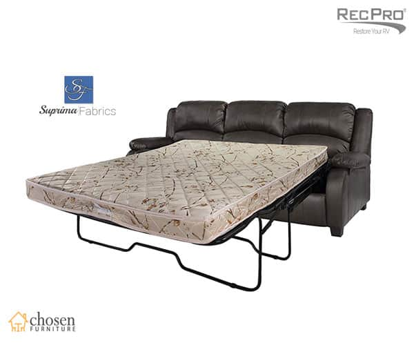 "RecPro Charles 80"" Inch RV Sleeper Sofa with Hide A Bed"