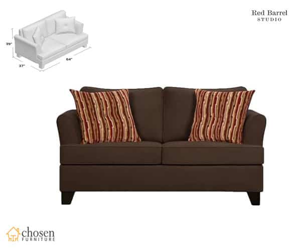 Simmons Upholstery Antin Twin Size Sleeper Sofa