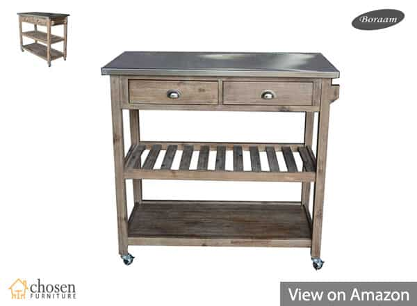 Best Kitchen Islands and Carts (2019) Reviews - ChosenFurniture