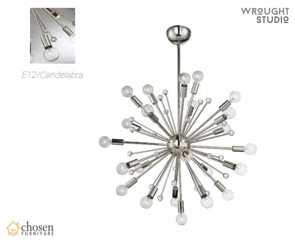 Wrought Studio Cumbria 24 Light Sputnik Chandelier
