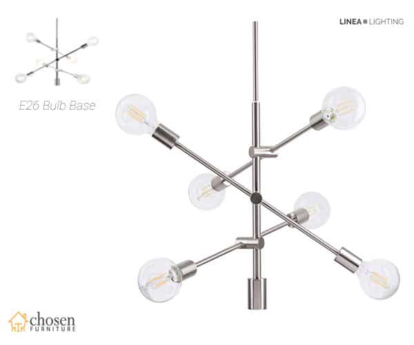 Marabella LED Sputnik Chandelier Light Fixture