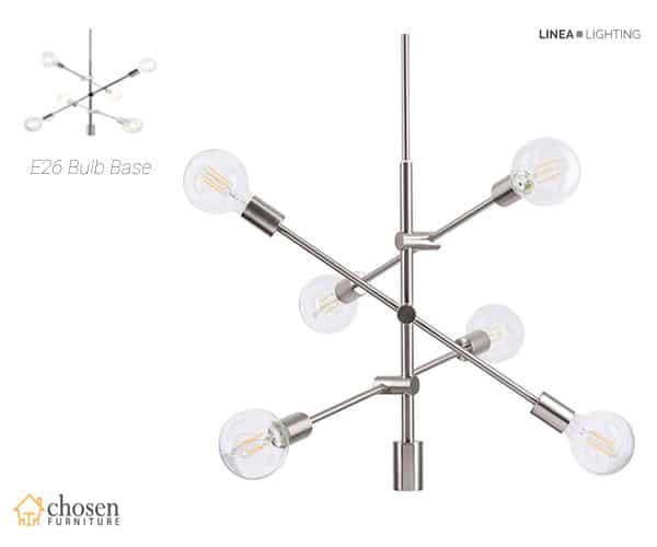 Marabella LED Sputnik Chandelier Light Fixture