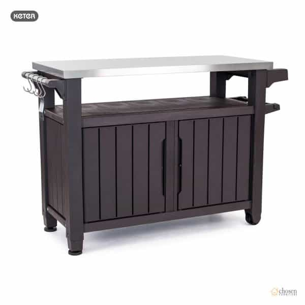Keter Unity XL Outdoor BBQ Prep Station