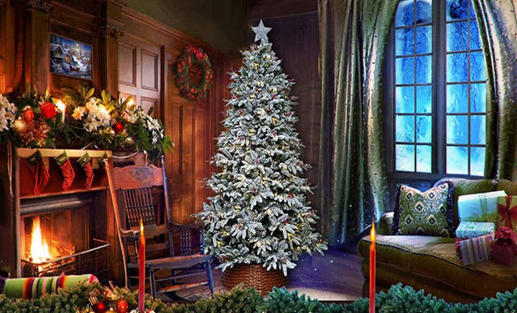 Top 10 Best Flocked Christmas Trees