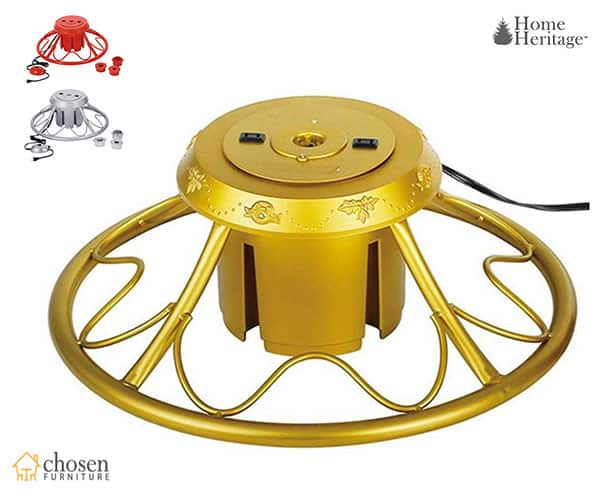 Best Rotating Christmas Tree Stands 2019 Chosenfurniture