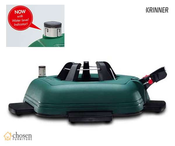 Krinner Genie L Rotating Christmas Tree Stand with Water Level Indicator