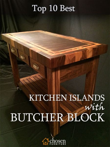 Best Kitchen Islands with Butcher Block Pin It