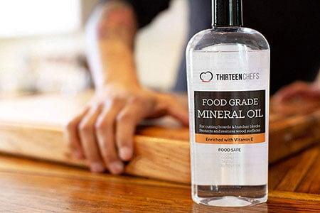 Thirteen Chefs Food Grade Mineral Oil