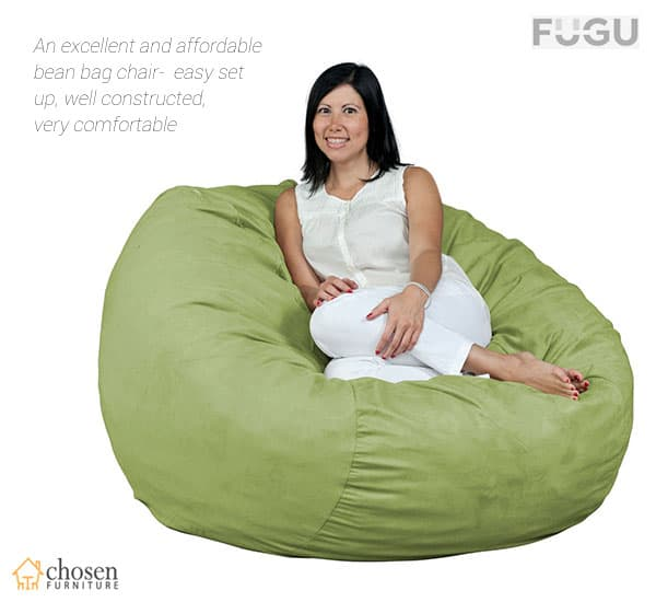 Fugu 4 XL Bean Bag Chair Double Layered Construction
