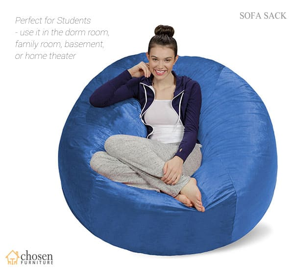 Sofa Sack Plush Ultra Soft 5 Foot Beanbag Chair