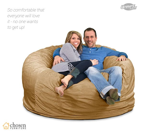 ULTIMATE SACK 6000 Foam-Filled Giant Bean Bag Chairs