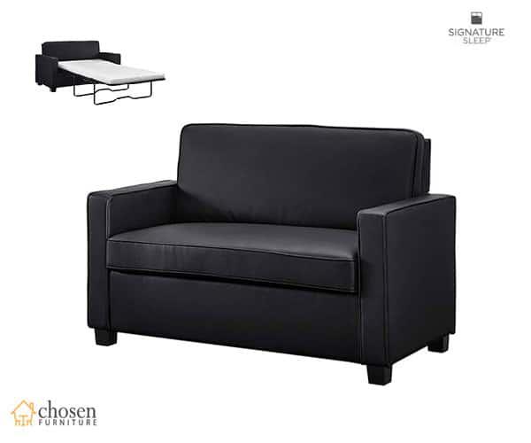Casey Sleeper Sofa with Twin Memory Foam Mattress