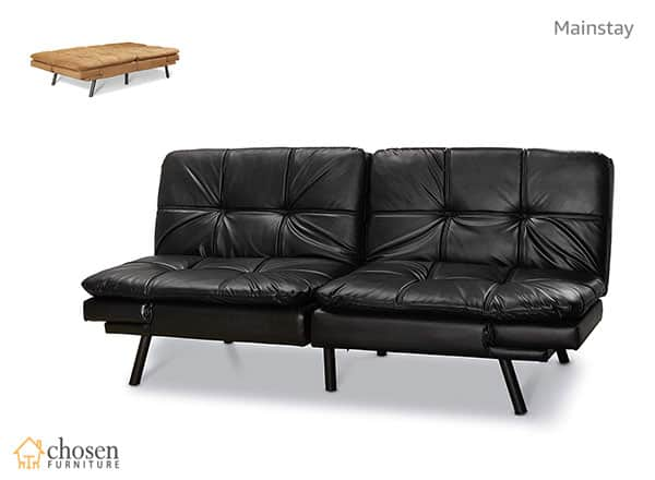 Mainstay Wooden Frame Memory Foam Futon Sofa Lounger