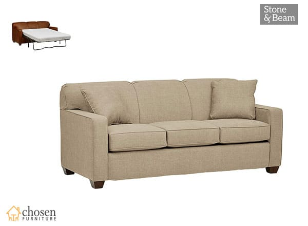 Stone & Beam Fischer Queen-Sized Sleeper Sofas