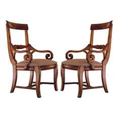 Kincaid Solid Wood Arm Chair Set