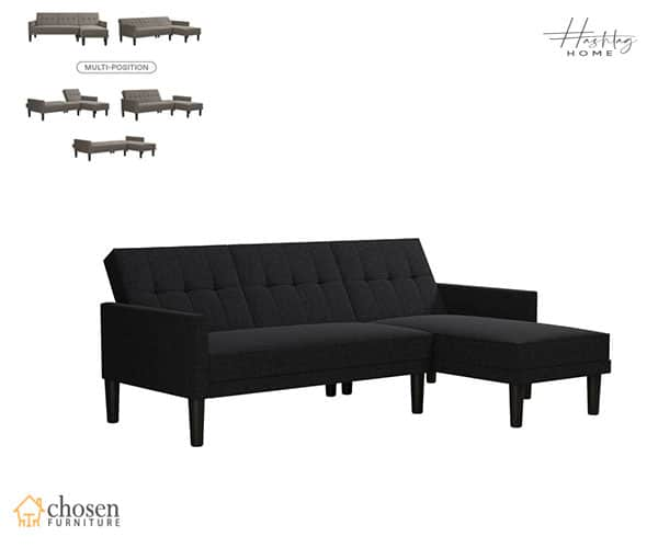 Correia 83 Right Hand Facing Sleeper Sectional