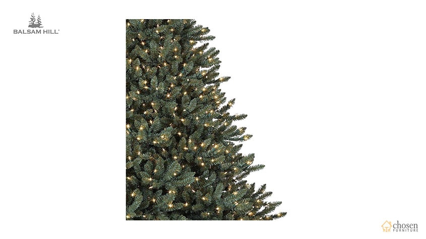 Balsam Hill Classic Blue Spruce Artificial Christmas Tree lights
