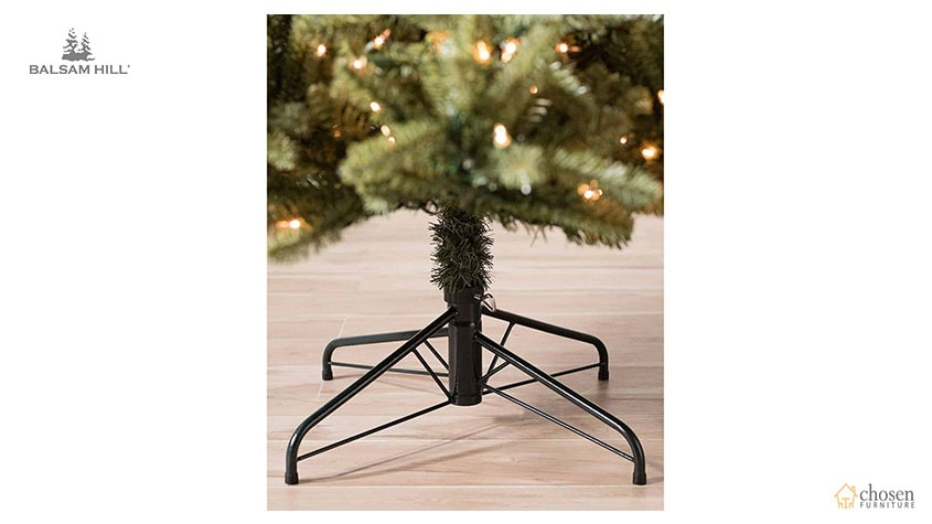 Balsam Hill Classic Blue Spruce Artificial Christmas Tree stand