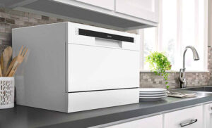 hOmeLabs Compact Countertop Dishwasher for home