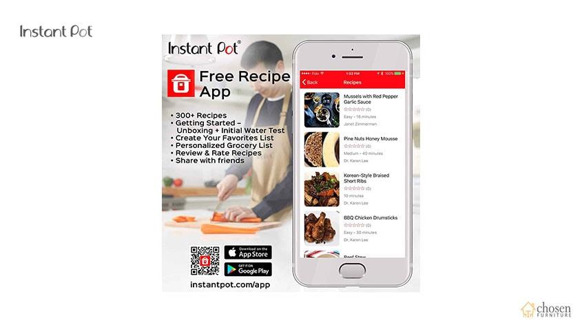 Instant Pot Duo Electric Pressure Cooker app
