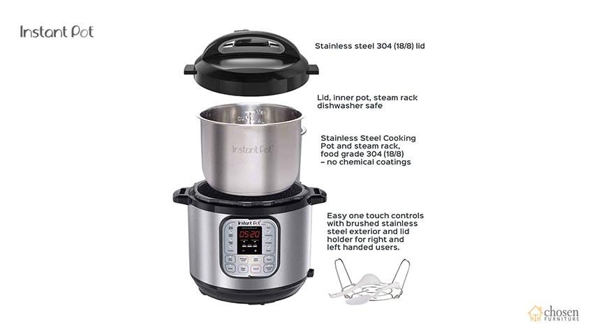 Instant Pot Duo Electric Pressure Cooker parts