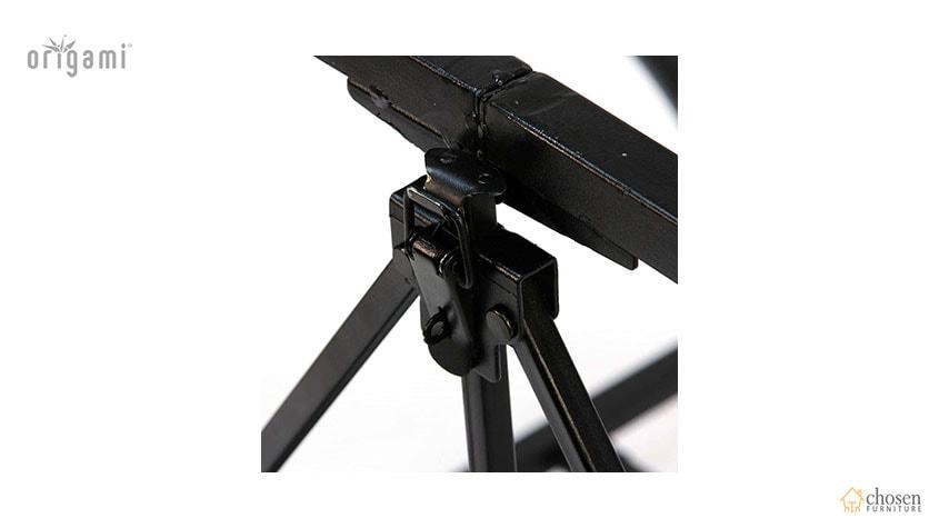 Origami Foldable Computer Desk Black frame
